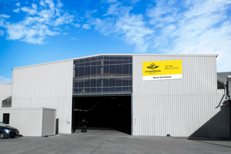 The Champion Freight head office in Christchurch, New Zealand